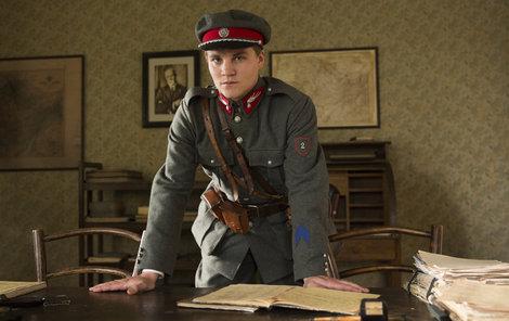 První roli získal představitel Martina Lásky už jako malý kluk.
