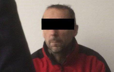 Miroslav O. u soudu, který rozhodl o jeho vzetí do vazby.