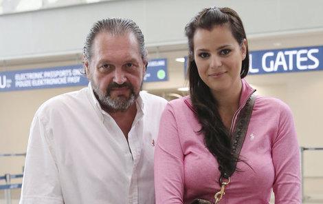 Ornella Koktová se svým manželem Josefem Koktou.