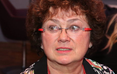 Vydrova manželka Jana Boušková.