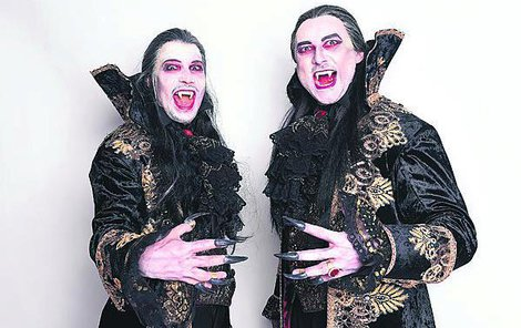 Oba hrají v Plese upírů hraběte von Krolocka.