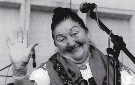 Říkali jí valašská cérka, i když už byla slavná a měla kariéru rozjetou.