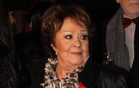 Na premiéru dorazila i Jiřina Bohdalová.