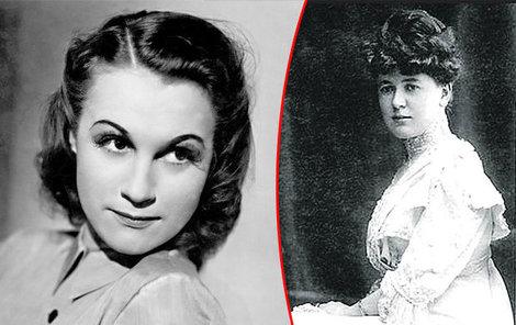 Krásnou aobdivovanou prvorepublikovou hvězdou byla Adina Mandlová (†81) idíky úchvatným róbám od Podolské.