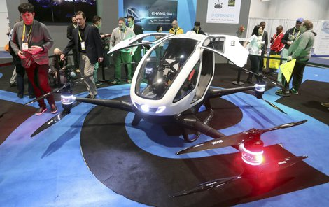 Je tento dron vozidlem budoucnosti?