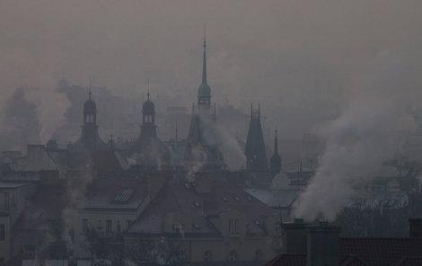 Smog trápí Česko už od počátku roku.