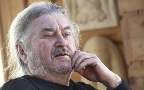 František Ringo Čech prožil v nemocnici vzrušení.