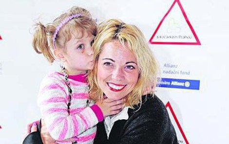 Dcera Eliška je pro zpěvačku vším.