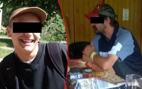 V bytě zemřeli otec a jeho syn Daniel.