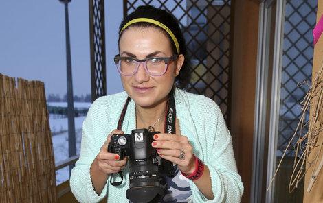 Kateřina ráda fotí.