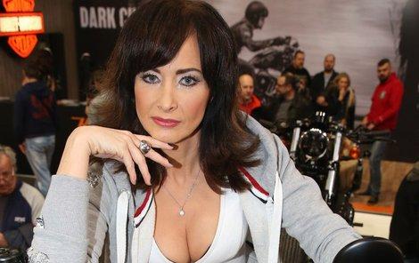 Daniela Šinkorová svůdně pózovala.
