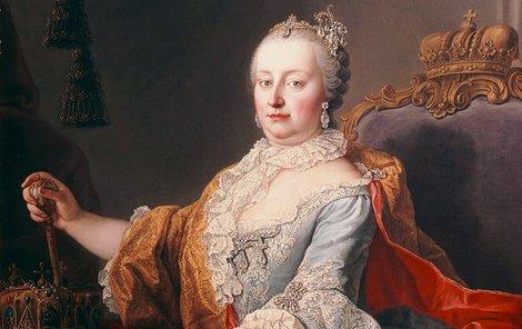 Císařovna Marie Terezie milovala krásné věci, tedy i květiny.