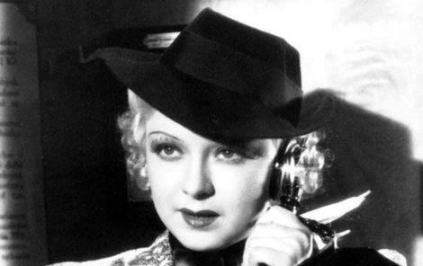 V roce 1937 natočila Ferbasová film Falešná kočička.