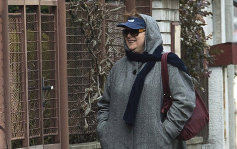 Šafránková ven chodí, jen trošku maskovaná!