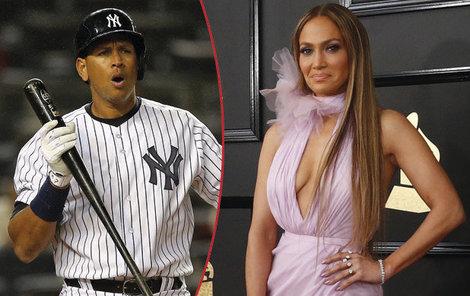 Alex Rodriguez randí s Jennifer Lopez.