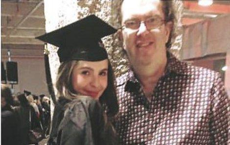 Richard s Emou, která v Paříži ukončila studium.