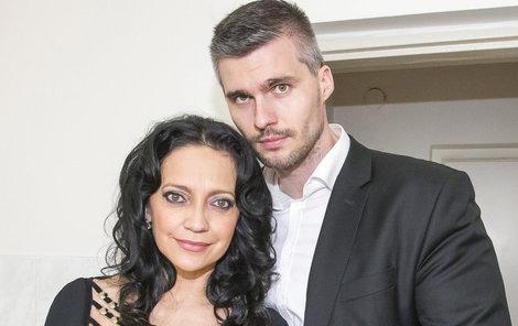 Lucie Bílá a Radek Filipi.