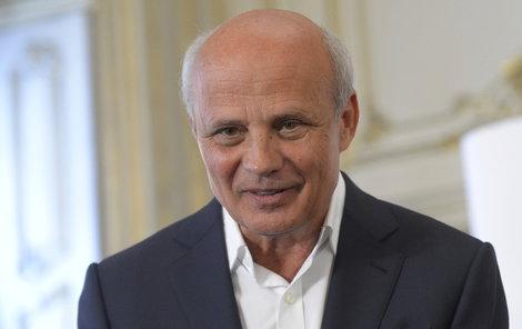 Michal Horáček představil 9. února 2017 svůj tým poradců pro prezidentského kandidáta