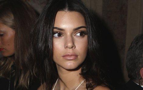 Kendall Jenner to na kole moc nevyšlo!