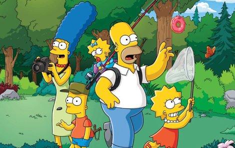 Simpsonovi nikdy neomrzí!