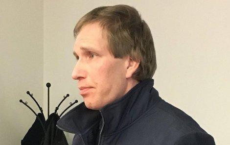 Ondřej R. (36) u soudu v Plzni.