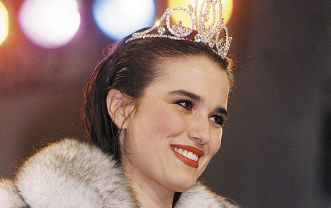Jako Miss Československo 1993.