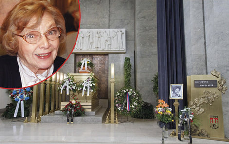 Poslední rozloučení s babičkou z Kouzelné školky Libuší Havelkovou (†92).