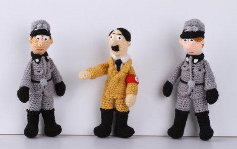 Nacistický vůdce Adolf Hitler i se svým knírkem.