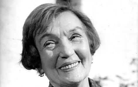Rosůlková se proslavila až po válce.