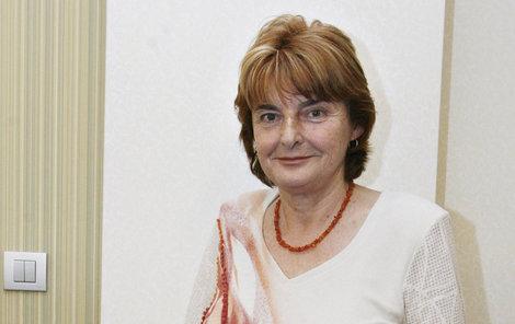 Bývalá šéfka Fondu ohrožených dětí Marie Vodičková.
