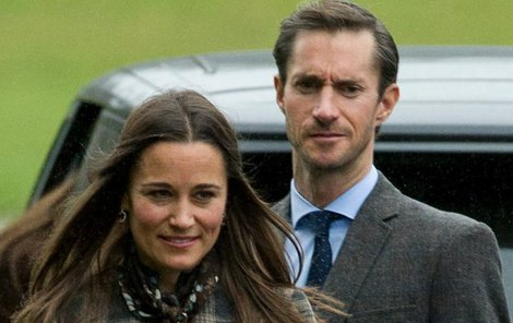 Pippa Middleton si chystá vzít zámožného bankéře Jamese Mathewse.