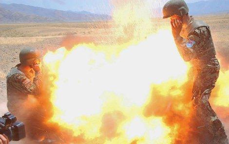 Minomet selhal, exploze zabila všechny přítomné, tedy i afghánskou autorku této fotky.
