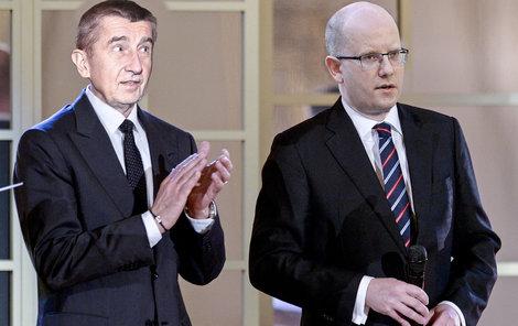 Tleská ironicky ministr Babiš rozhodnutí premiéra Sobotky položit vládu?