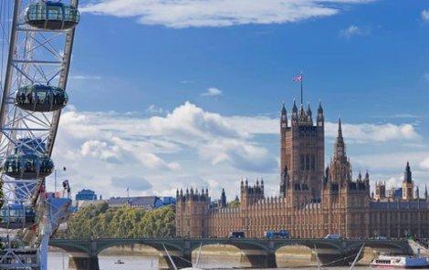 V Londýně se určitě nudit nebudete.
