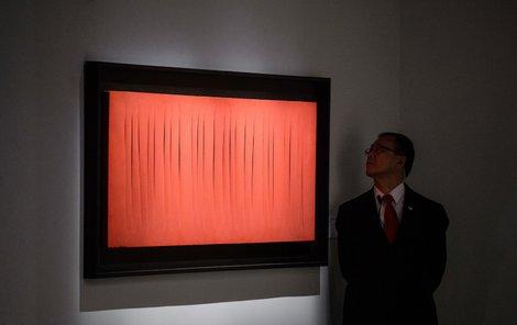 Takhle nějak vypadal zapomenutý obraz: »Prostorových konceptů« namaloval Fontana spousty.