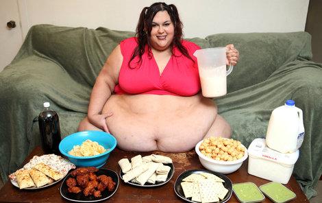 Váží už 317 kilo a teď má šanci, že ještě další přibere – je totiž těhotná!