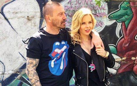 Kateřina Kristelová s Tomášem Řepkou. Každý si dělá co chce...