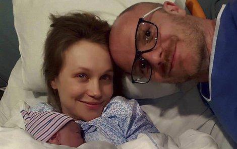 Šťastná Vlastina porodila syna 8. května.