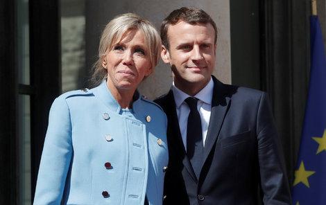 Prezident se svou první dámou
