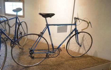 Expozice ukáže vývoj kultovních kol značky Favorit včetně prototypu z roku 1951.