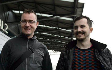 Ivan Buchta (vlevo) a Martin Pezlar