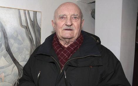 Josef Somr (84) prodává svůj dům v rodném Vracově.
