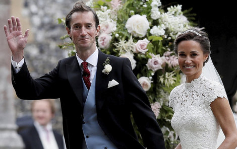 Ani svatba Pippy se neobešla bez trapasu...