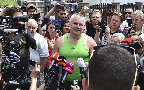 Jiří Kajínek byl propuštěn z vězení.