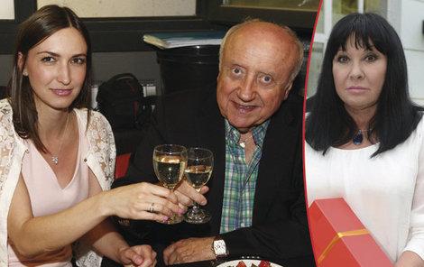 Felix Slováček si na své narozeniny připil s milenkou Lucií.
