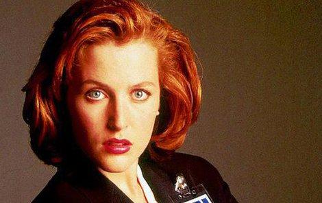 Agentka Scullyová v nezvyklé roli!