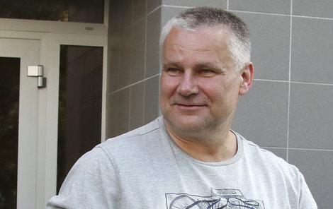 Jiří Kajínek je už 10 dní na svobodě. Bydlí v Brně a jezdí po okolí.