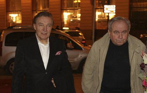 Karel Gott a Olda Havránek byli dobří kamarádi...