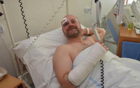Cestující Bronislav Hedvábný jel do práce, skončil v nemocnici.