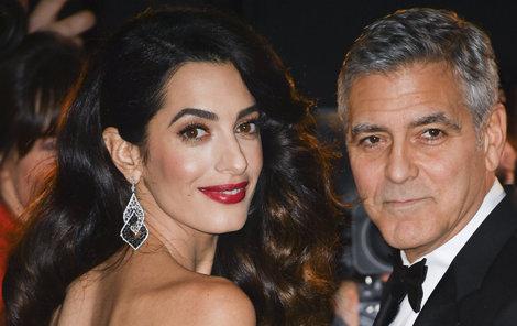 George Clooney a Amal Clooney